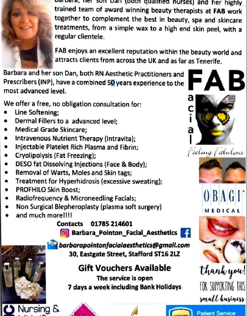 Parash Magazine Advert