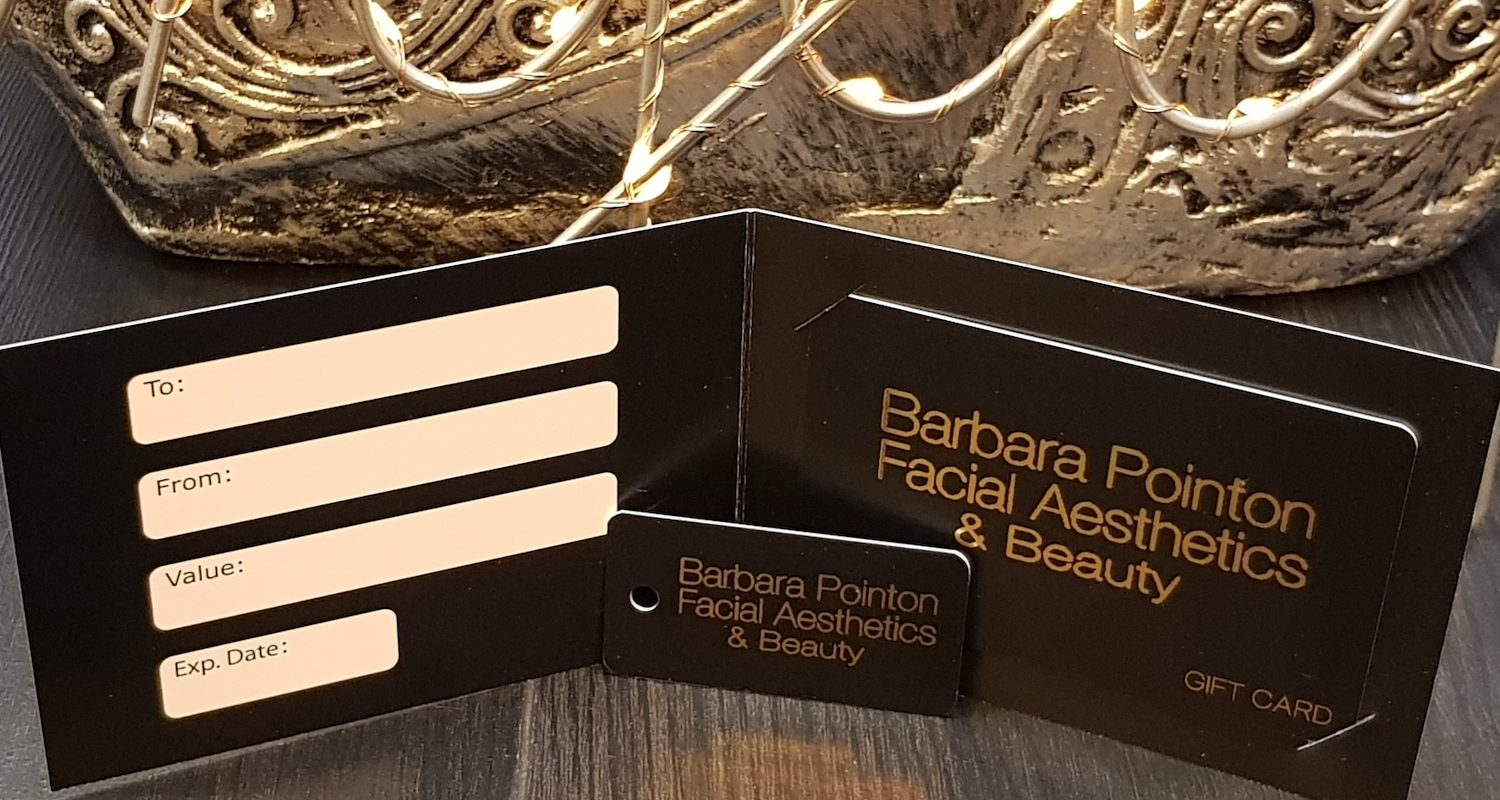 Barbara Pointon Facial Aesthetics Gift Vouchers